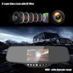 MAISI Rear View Mirror Dash Cam