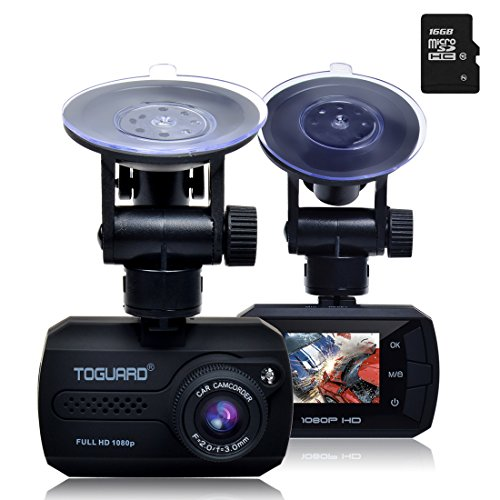 TOGUARD Mini Full HD Dash Cam